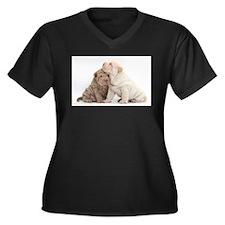 Sharpei Plus Size T-Shirt