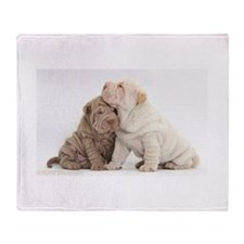Sharpei Throw Blanket