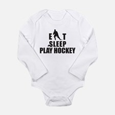 Eat Sleep Play Hockey Body Suit