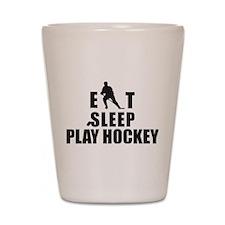 hockey46.png Shot Glass