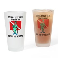 scuba67.png Drinking Glass