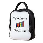 Xylophone Goddess Neoprene Lunch Bag
