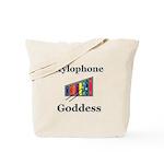 Xylophone Goddess Tote Bag