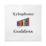 Xylophone Goddess Queen Duvet