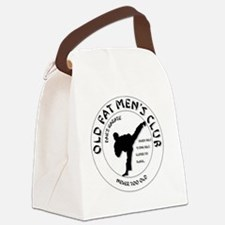 Old Fat Men's Club Canvas Lunch Bag