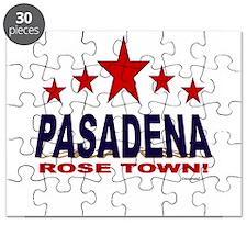 Pasadena Rose Town Puzzle