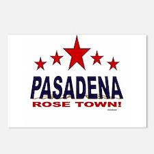 Pasadena Rose Town Postcards (Package of 8)