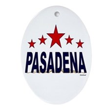 Pasadena Ornament (Oval)