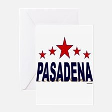 Pasadena Greeting Card