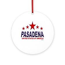 Pasadena U.S.A. Ornament (Round)