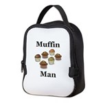 Muffin Man Neoprene Lunch Bag