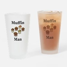 Muffin Man Drinking Glass