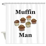 Muffin Man Shower Curtain