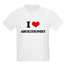 I Love Abolitionist T-Shirt