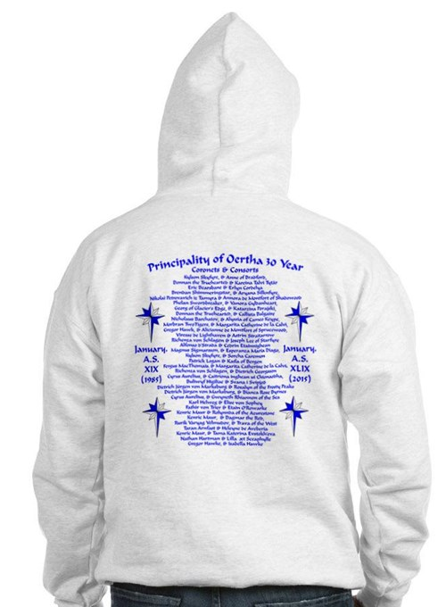 Oertha 30 Year Front And Back Hoodie