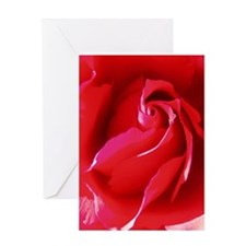 Red Red Rose Greeting Cards