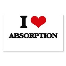 I Love Absorption Decal