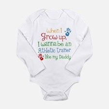 Future Athletic Traine Long Sleeve Infant Bodysuit