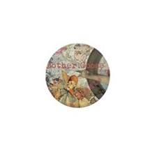 Vintage Mother Goose Collage Pretty Fairy tale Min