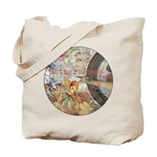 Vintage Mother Goose Collage Pretty Fairy tale Tot
