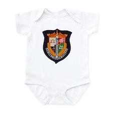 USS JOHN C. CALHOUN Infant Bodysuit