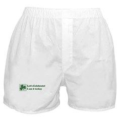 Lets Celebrate I am 8 Boxer Shorts