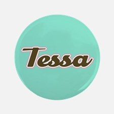 Tessa Aqua 3.5 Button (100 pack)