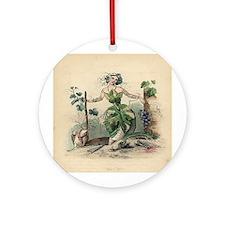 GRAPE VINE Ornament (Round)