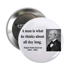 "Ralph Waldo Emerson 9 2.25"" Button (10 pack)"
