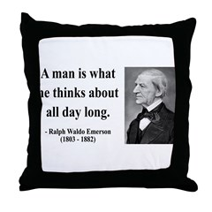 Ralph Waldo Emerson 9 Throw Pillow