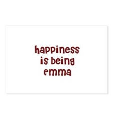 happiness is being Emma Postcards (Package of 8)