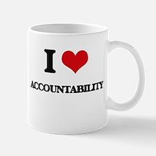 I Love Accountability Mugs