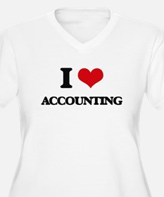 I Love Accounting Plus Size T-Shirt