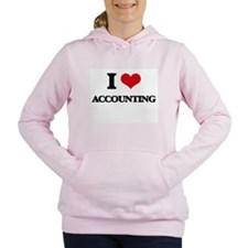 I Love Accounting Women's Hooded Sweatshirt