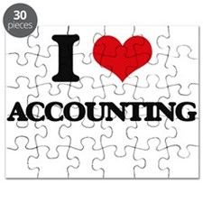 I Love Accounting Puzzle