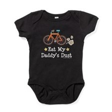 Funny Bicycle racing Baby Bodysuit