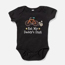 Unique Mountain bike Baby Bodysuit