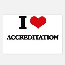 I Love Accreditation Postcards (Package of 8)
