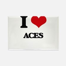 I Love Aces Magnets