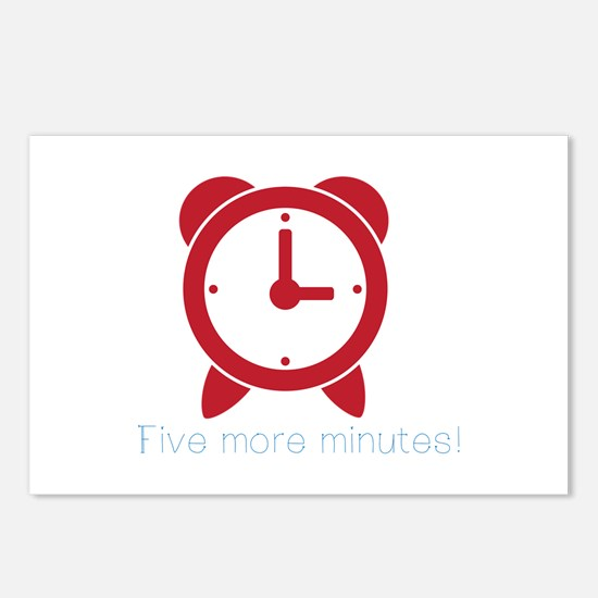 Five More Minutes Postcards (Package of 8)