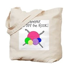 Crochet It's off the HOOK Tote Bag