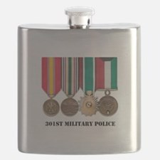 301st Military Police Flask