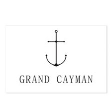 Grand Cayman Sailing Anchor Postcards (Package of