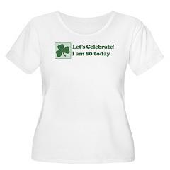Lets Celebrate I am 80 T-Shirt