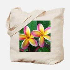 Maui Tropical Flower Tote Bag