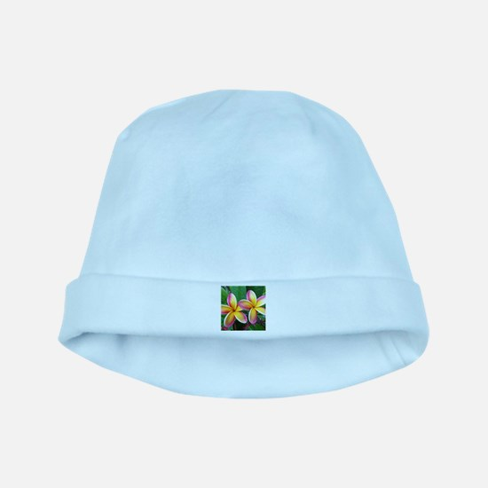 Maui Tropical Flower baby hat