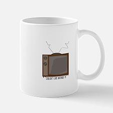 Without TV Mugs