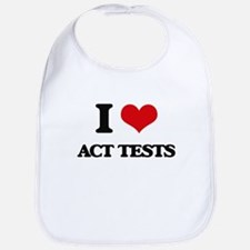 I Love Act Tests Bib