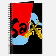Sax Color Block Journal