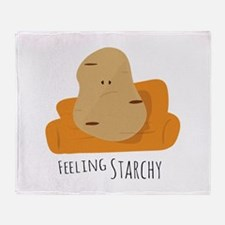 Feeling Starchy Throw Blanket